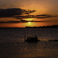 Cedar Key Sunset by Terry Cooper