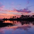 Cedar Key Sunset by Terry  Wieckert