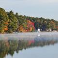 Cedar Lake Reflection by Bob Phillips