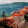 Cedar Mountains From Cedar Breaks by TL Mair
