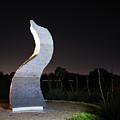 Cedar Park Sculpture Flame by JG Thompson