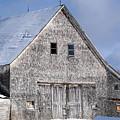 Cedar Shake Barn by William Tasker