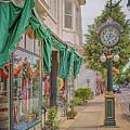 Cedarburg Street Clock by Susan Rissi Tregoning