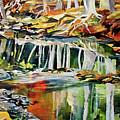 Ceeekbed, Fall Colors 4 by Rae Andrews