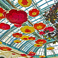 Ceiling Of Bellagio Conservatory In Las Vegas-nevada by Ruth Hager