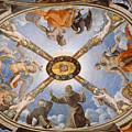 Ceiling Of The Chapel Of Eleonora Of Toledo by Bronzino