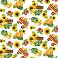 Celebrate Abundance Harvest Half Drop Repeat by Audrey Jeanne Roberts