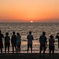 Celebrating The Sunset by Karen Regan