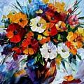 Celebration Bouquet by Leonid Afremov