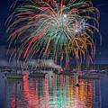 Celebration In Boothbay Harbor by Rick Berk