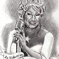 Celia Cruz by Andrea Reyes
