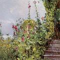 Celia Thaxters Garden by Childe Hassam