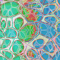 Cell Abstract 10 by Edward Fielding