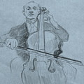 Cellist by Ruth Mabee