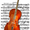 Cello With Clara Bow by John Haldane