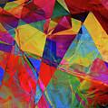 Cellophane Geometry by Carol Berget