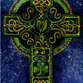 Celtic Cross - Harp by Elle Smith Fagan