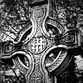 Celtic Cross Detail Killarney Ireland by Teresa Mucha