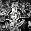 Celtic Cross Detail Killarney Ireland by Teresa Mucha