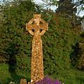Celtic Cross St Davids Church by Douglas Barnett