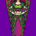 Celtic Forest Fairy - Beauty by Celtic Artist Angela Dawn MacKay