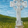 Celtic High Cross by Karen Desrosiers