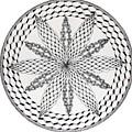 Celtic Knot Mandala by Susan Singer