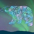 Celtic Polar Bear by Kristen Fox