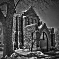 Cemetary Chaple by Mike Oistad