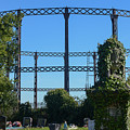 Cemetery And Gas Works by F Helm