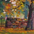 Cemetery Gate by Len Stomski