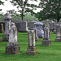 Cemetery Grunge by Carl Perry