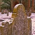 Cemetery Headstone  by Carmine Taverna