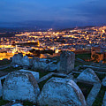 Cemetery Overlooking Fes, Morocco by Lindley Johnson