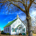 Centennial Christian Church Rural Greene County Georgia by Reid Callaway