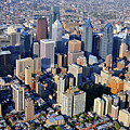 Center City Philadelphia Large Format by Duncan Pearson