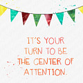 Center of Attention- card by Linda Woods