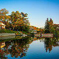 Centerport Harbor Autumn Colors by Alissa Beth Photography