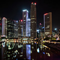 Central Business District, Singapore by Edward Nowak