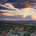 Central New Mexico Sunset by Matt Suess