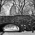 Central Park And The San Remo Building by John Farnan