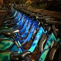 Central Park Bikes by Trish Tritz