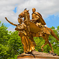 Central Park Sculpture-general Sherman by Regina Geoghan