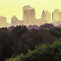 Central Park Skyline by Dave Thompsen