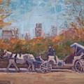 Central Park Tourists by Bart DeCeglie
