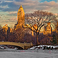 Central Parks Famous Bow Bridge by Chris Lord