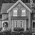 Century Home - Bw by Steve Harrington