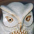 Ceramic Owl. by Stan Pritchard