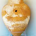 Ceramic Pot From Olympia. by Marek Poplawski