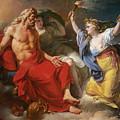 Ceres Begging For Jupiter's Thunderbolt After The Kidnapping Of Her Daughter Proserpine by Antoine-Francois Callet
